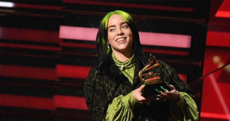 Billie Eilish - © Robin Beck via Getty Images pour The Recording Academy