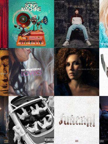 Les Albums du Vendredi 31 Janvier 2020