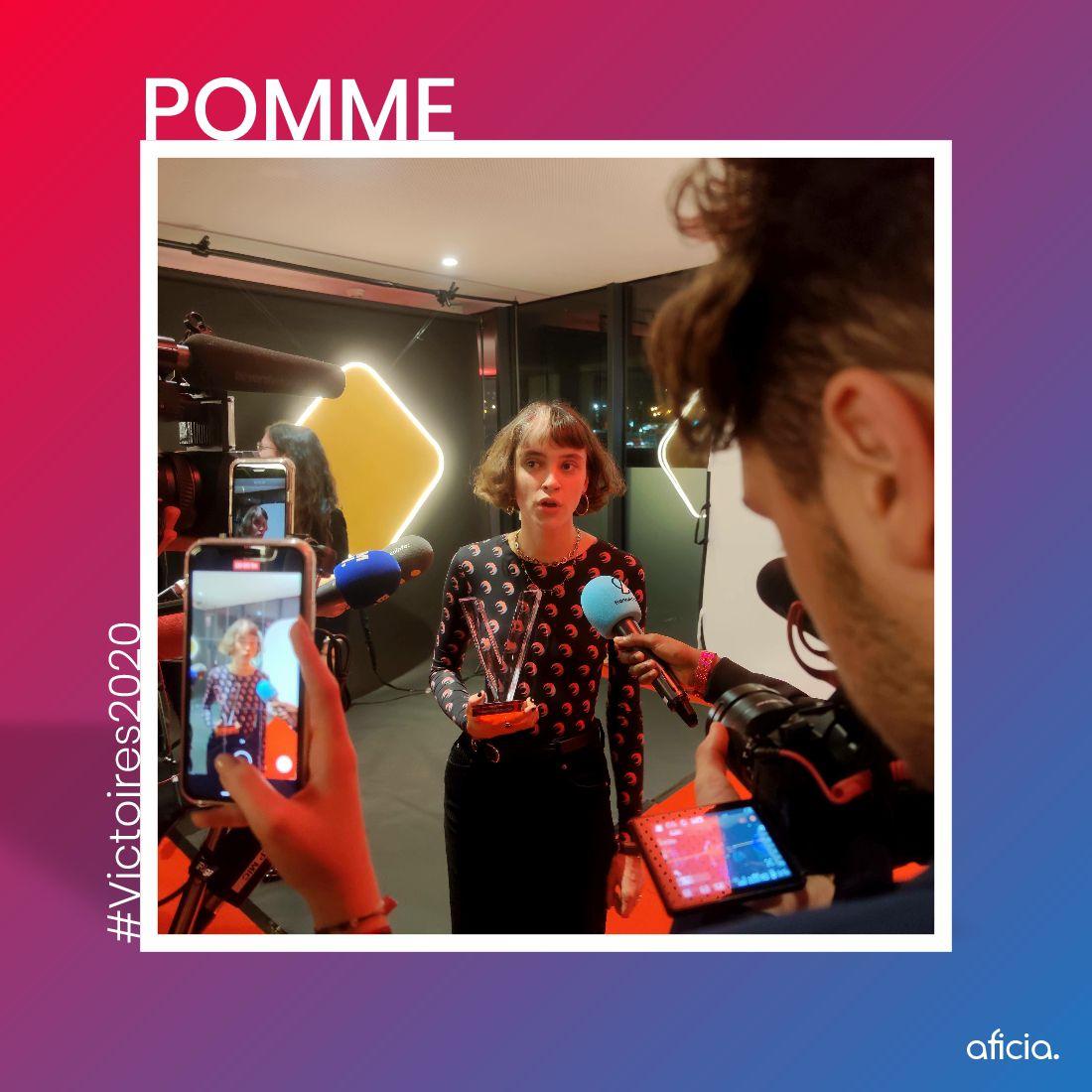 Pomme - Victoires de la Musique 2020 - © Thibaut Muller