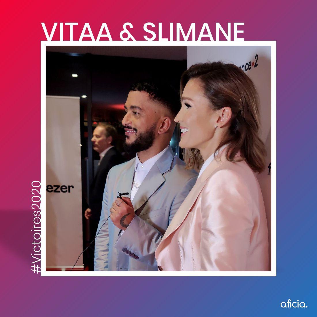 Vitaa & Slimane - Victoires de la Musique 2020 - © Thibaut Muller