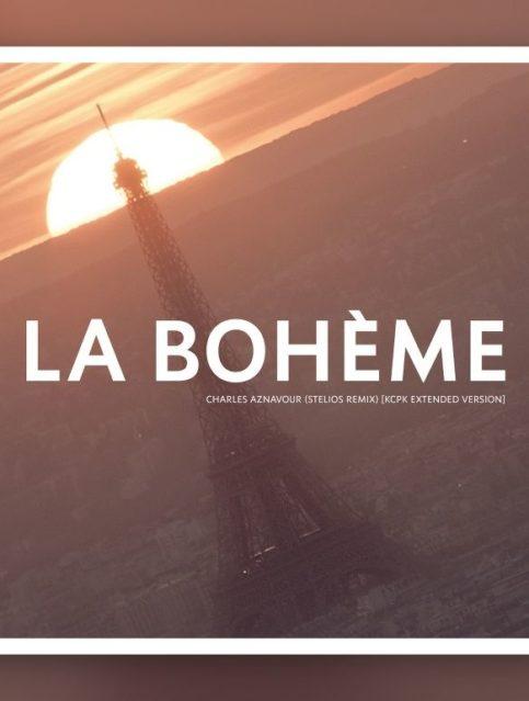 Charles Aznavour - La Bohème (Stelios Remix) - Cover