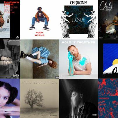 Les Albums du Vendredi 7 Février 2020