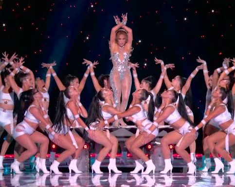 Shakira et Jennifer Lopez - Super Bowl - Capture YouTube