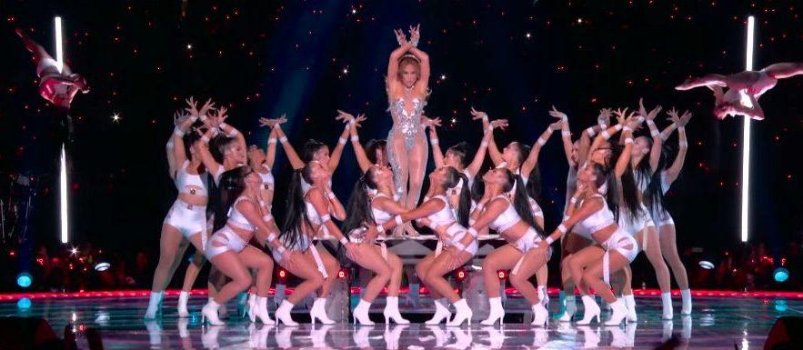 Shakira et Jennifer Lopez - Super Bowl - Capture YouTube