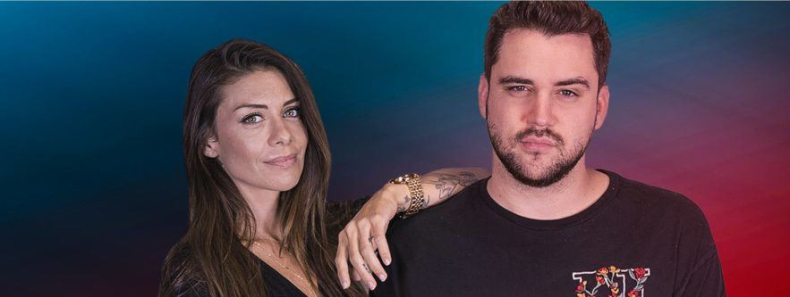 Dj Talk - Adrien Toma & Maeva Carter - © Fun Radio
