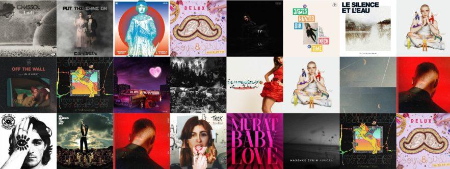 Les Albums du Vendredi 06 Mars 2020
