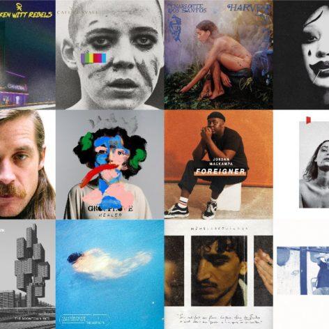 Les Albums du Vendredi 13 Mars 2020 - Cover