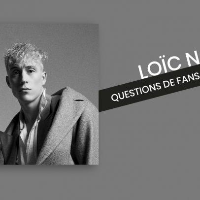 Loic Nottet - Questions de fans avec Agathe