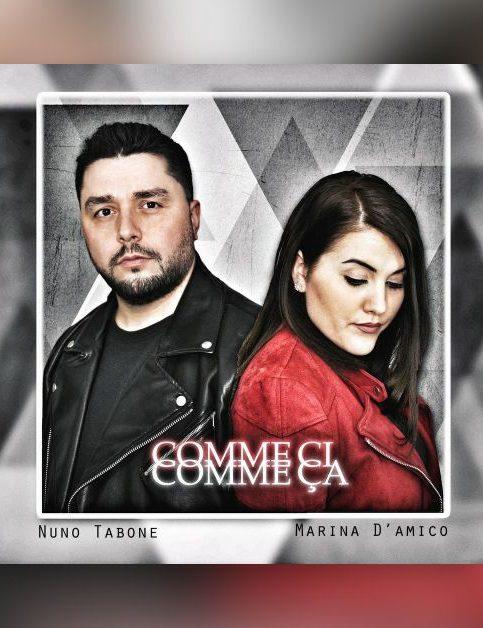Nuno Tabone x Marina D'amico - Comme ci comme ça - Cover