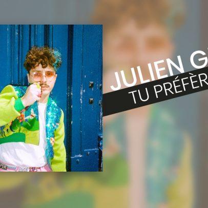 Julien Granel - Tu Préfères - Cover