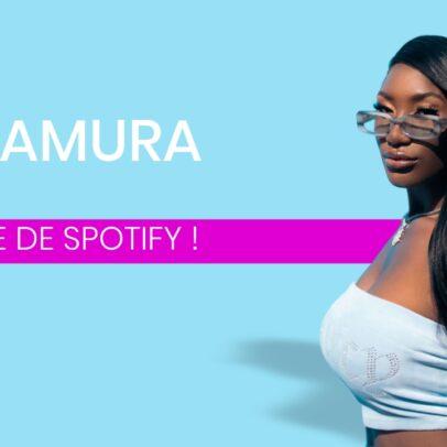 Aya Nakamura reine de Spotify
