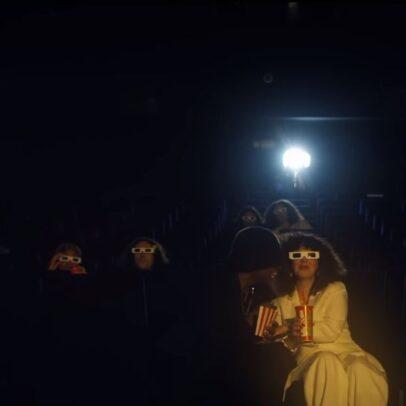Enchantée Julia feat. Luidji - Cinéma - Capture YouTube