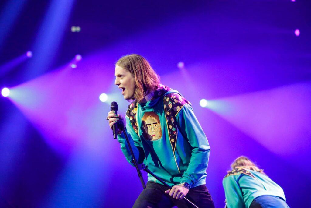 Daði og Gagnamagnið - Iceland - Eurovision 2021 - EBU - THOMAS HANSES