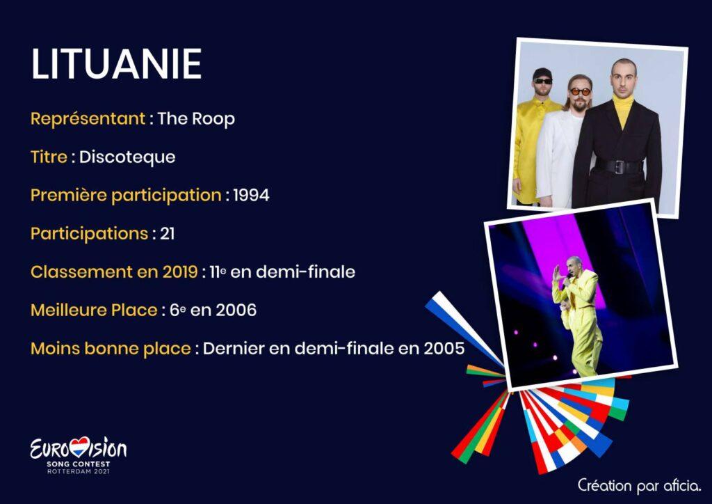 Lituanie - Eurovision 2021