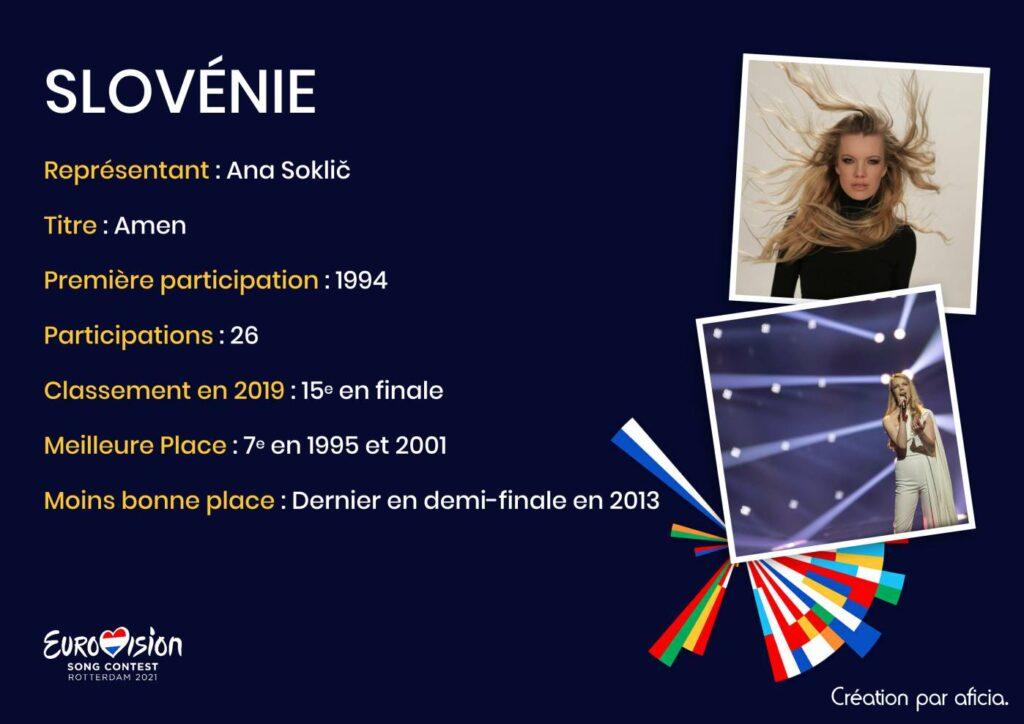 Slovénie - Eurovision 2021