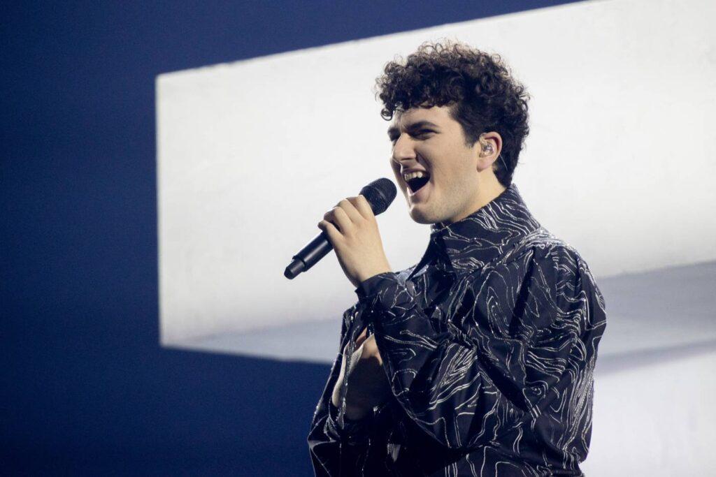 Gjon's Tears - Switzerland - Eurovision 2021 - © EBU - Andres Putting