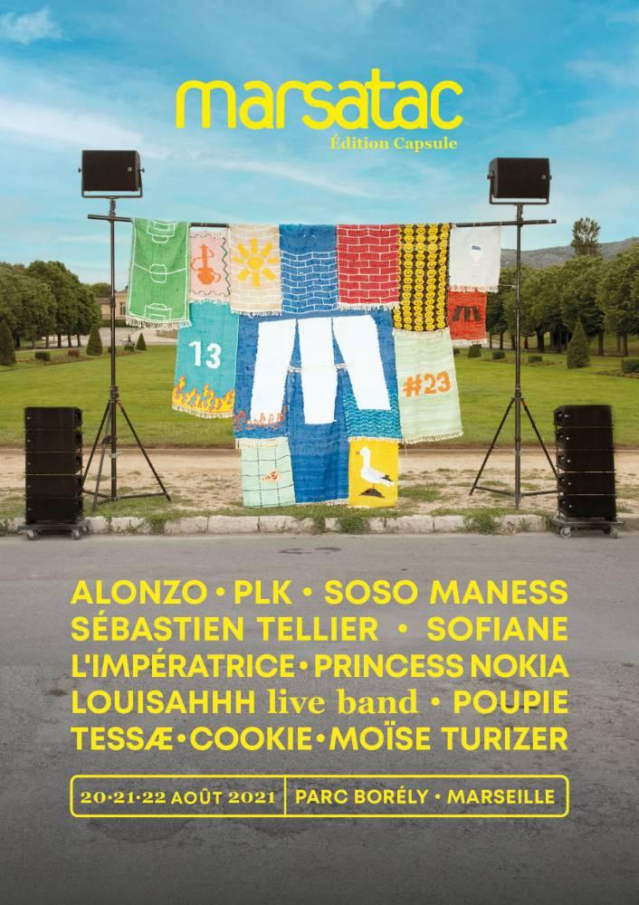 Festival Marsatac 2021 - Tapis by Delphine Dénéréaz - Photo by Robin Plus