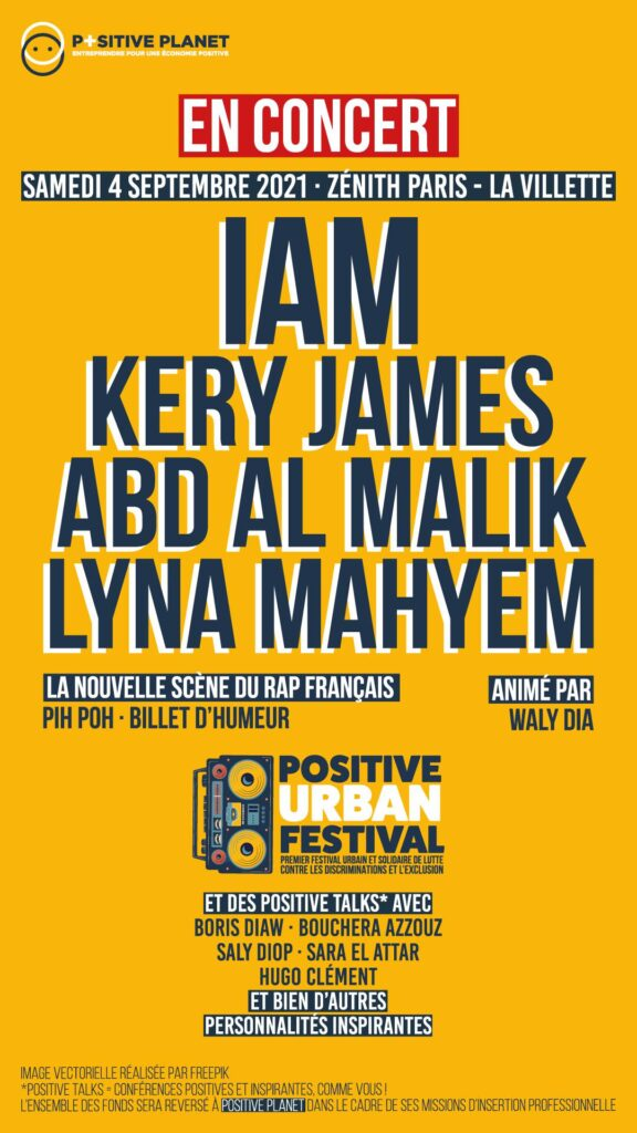 Positive Urban Festival - Affiche